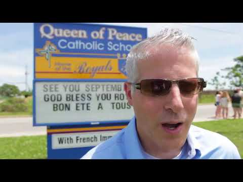 Queen of Peace Catholic School, donor, scholarships
