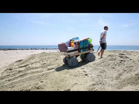 Sandhopper: The Worlds First Electric Beach Cart
