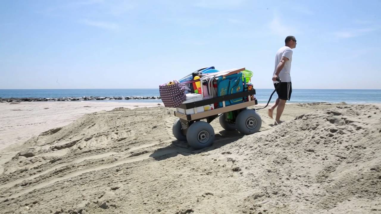 Sandhopper: The Worlds First Electric Beach Cart - YouTube