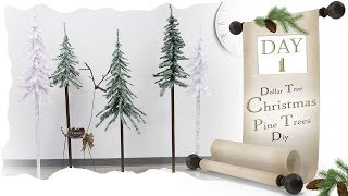 Pine Tree DIY / Day 1 /  Dolla…