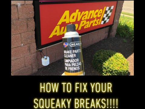 *ONLY $4.99  Does BREAK CLEANER WORK? - How To Fix Squeaky Brakes and Clean Them Quick And Easy*2019