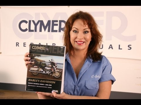 Clymer Manuals Harley Davidson Road King Electra Glide FLHR FLHT Shop Service Repair Manual Video