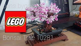Jens bygger med LEGO: Bonsai Tree 10281