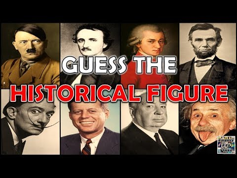 """Can you Guess The """"HISTORICAL FIGURE""""? Test/Trivial/Quiz"""