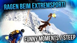 RAGEN BEIM EXTREMSPORT!  FUNNY MOMENTS in STEEP 🎮 TwoEpicBuddies