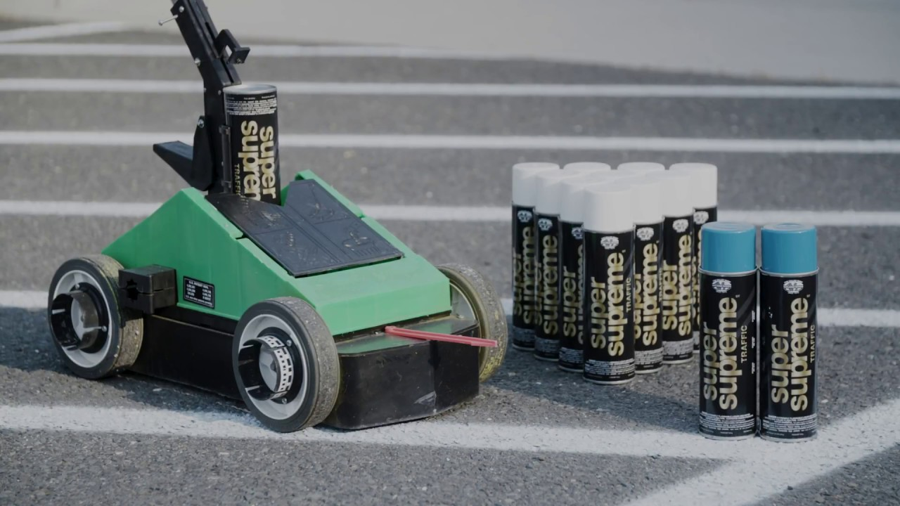 Paint Your Own Parking Lot With A Fox Valley Super Striper