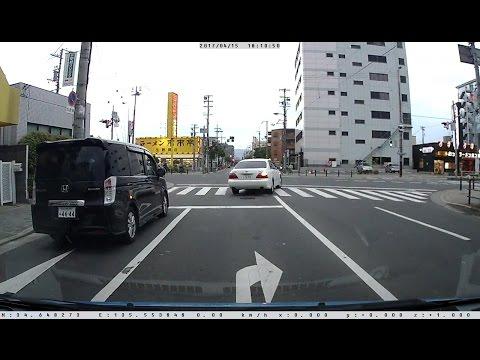 大阪市内でいくら急いで急発進しても信号に捕まる件