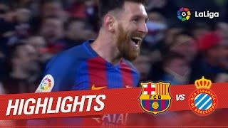 Resumen de fc barcelona vs rcd espanyol (4-1) subscribe to the official channel of laliga santander in hd | 2016-12-18 00.00h j16 bar esp santan...