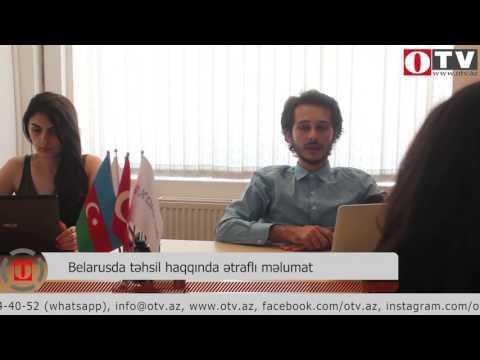 [Polad Hacıyev] Belarusda Təhsil Haqqında ətraflı Məlumat - [www.OTV.az]