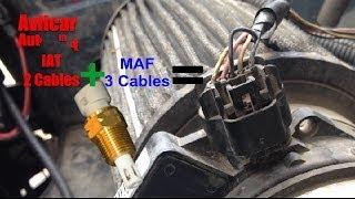 Sensor MAF 5 Cables Con Sensor IAT Diagnostico Avilcar