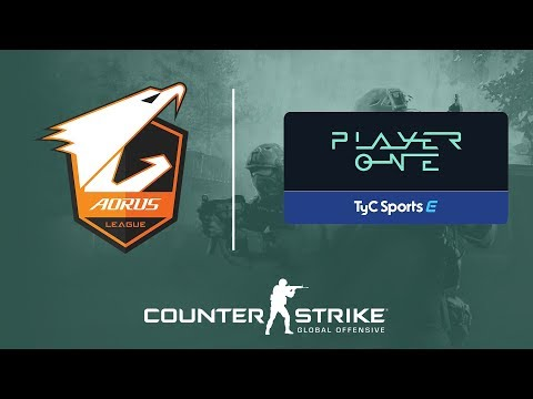 Aorus League Cono Sur de Counter-Strike en Player One
