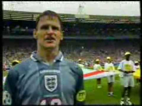 National Anthem England Euro 96