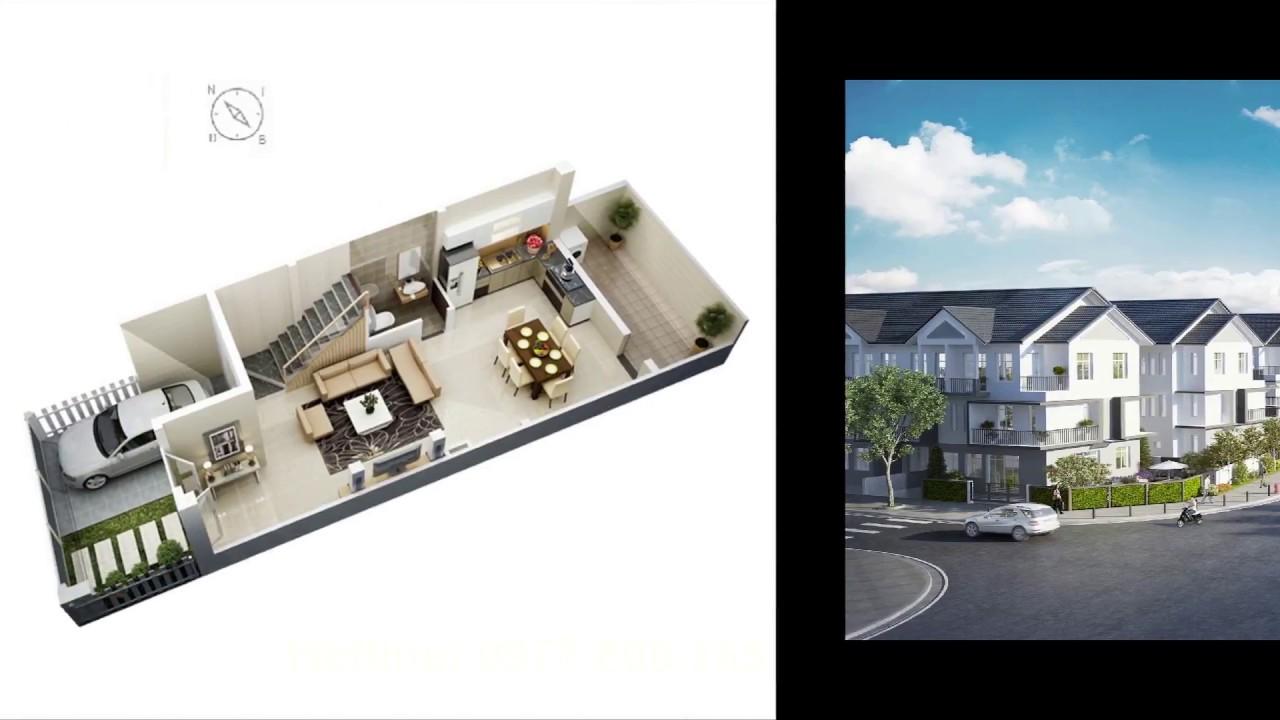 Nhà Phố Rio Vista - Toàn cảnh dự án nhà phố Rio Vista Quận 9 - MIK