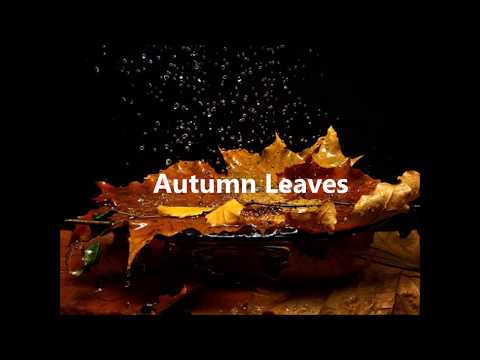 Autumn Leaves by Nat King Cole (with lyrics)