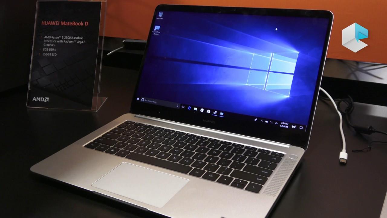 Huawei Matebook D 14, un Honor MagicBook con AMD Ryzen Mobile e AMD Vega -  ITA