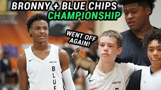 Bronny James & Blue Chips WIN THE CHAMPIONSHIP Then Bronny Makes An Instagram! Gabe Cupps Is NICE
