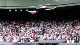 Флаг США упал на Олимпиаде-2012 в Лондоне между РФ и РБ(Мистическое и в то же время радостное для всех патриотов событие произошло 5 августа на награждении Олимпий..., 2012-08-06T12:08:40.000Z)
