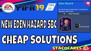 FIFA 19 NEW EDEN HAZARD SBC CHEAP SOLUTIONS - 3 REQUIRE CHEMISTRY -INFORMATION AND REWARDS IN VIDEO