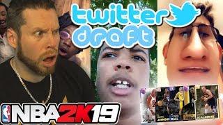 �������� ���� NBA 2K19 Twitter Draft ������