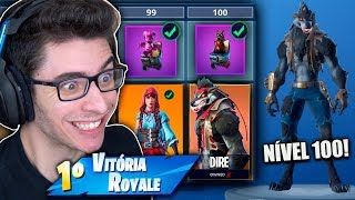 I RESET THE BATTLE PASS AND WON THE RAREST SKIN! Fortnite: Battle Royale