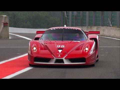 Ferrari FXX Evoluzione - PURE Engine Sounds!