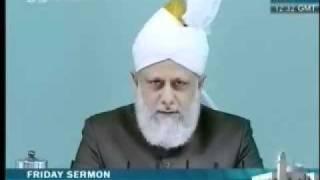 Проповедь Хазрата Мирзы Масрура Ахмада (06-08-10) часть 3