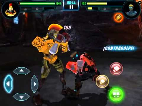 [Real Steel World Robot Boxing] MIDAS vs ATOM |Gigantes de Acero|