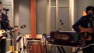 "Goldspot performing ""Call Center Girl"" on KCRW"