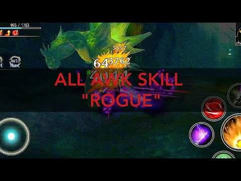 AVABEL ONLINE : ALL AWAKEN SKILL ROGUE 2019!!! *UPDATE`
