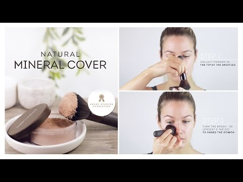 HOW TO: Natural Mineral Cover (Mineral Foundation) by Nude by Nature
