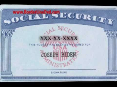 Borderline fake id segment youtube for Make a social security card template