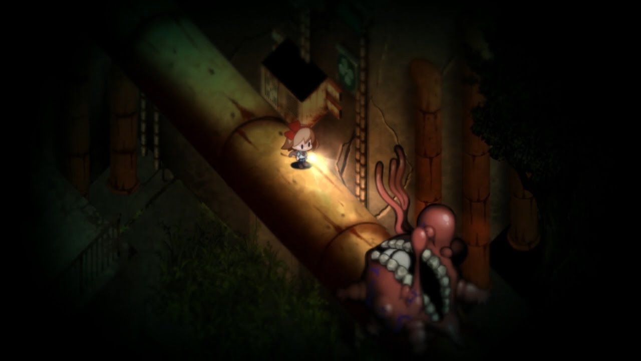 Yomawari: Night Alone - Scary Things & Wanderers Trailer (PS Vita ...