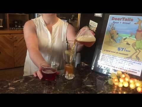 Megan Boozer Showcases Deer Creek Winery's new DeerTails mix
