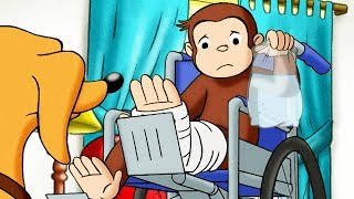 Curious George 🐵Housebound! 🐵Full Episode 🐵 HD 🐵 Cartoons For Children thumbnail