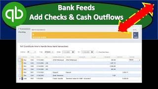 Bank Feeds Outflow Organization of Outflows QuickBooks Pro 2019