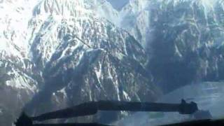 PIA Fokker F27 Landing at Chitral Airport