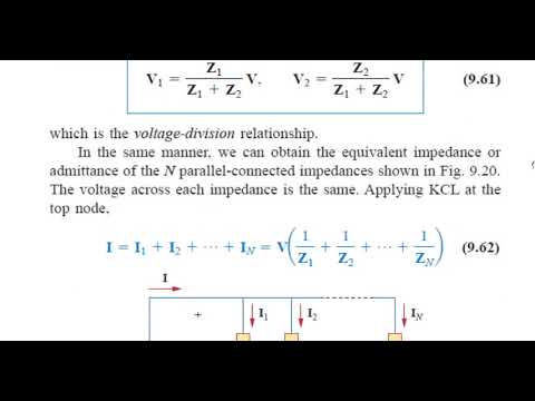 Kirchhoff's Laws in the Frequency Domain Lecture 4 2