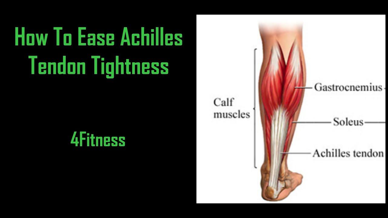 How to ease Achilles Tendon Tightness - YouTube