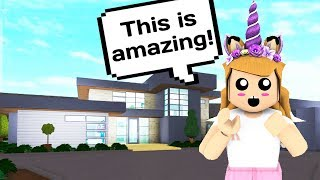 IS THIS THE MOST AMAZING HOUSE ON BLOXBURG? // Roblox Bloxburg Update // Subscriber Builds