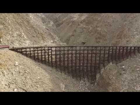 Carrizo Gorge Train Trestle (Drone Footage)