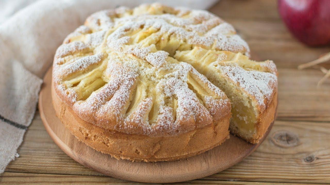 TORTA di MELE Coccomela Dolce con farina di cocco mele e ...