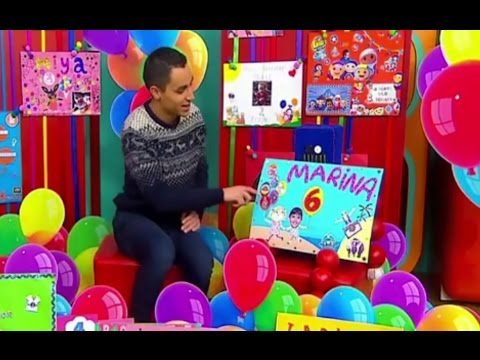 Cbeebies 19th December 2016 Marinas birthday Card on TV YouTube – Cbeebies Birthday Cards Youtube