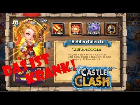 Castle Clash | Das Quest Board Mit Der KRASSEN Rose! | Schloss Konflikt