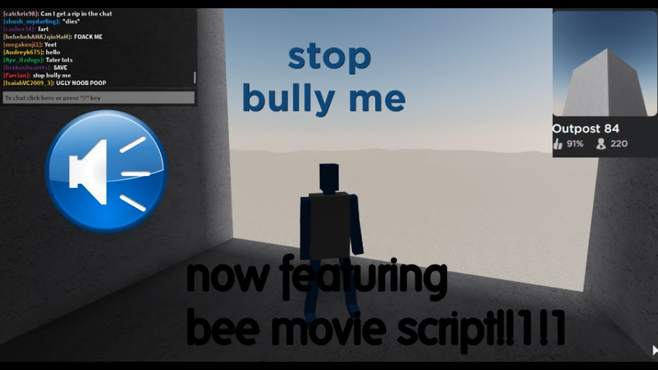 Outpost 84 The Text To Speech Meme Roblox Youtube