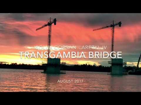 TransGambia Bridge - Work in progress. August_2017