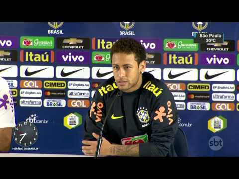 Bota ao estilo ´Robocop´ ajuda seleção de Tite a manter aproveitamento - SBT Brasil (27/03/17)