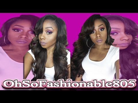 Sexy BombShell Hair: FreeTress Karissa Wig + Bloopers & Behind The Scenes
