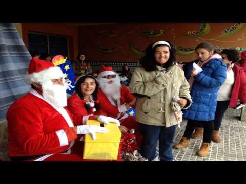 Santa Claus llegó al Virgen del Amparoиз YouTube · Длительность: 2 мин37 с