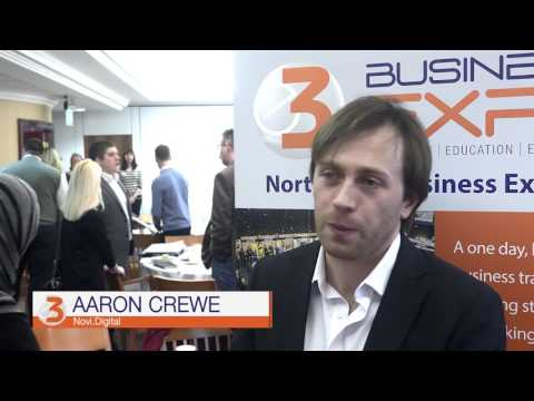 The E3 Business Expo, why exhibit? Aaron Crewe - Novi Digital