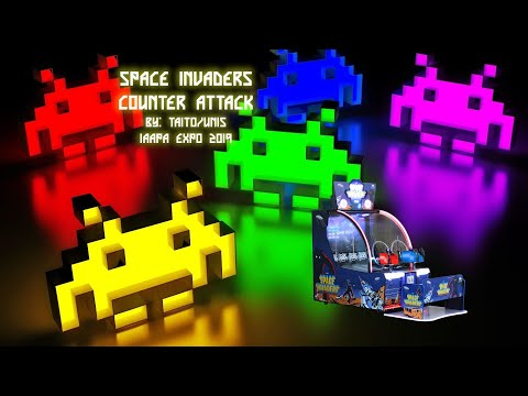Space Invaders Counter Attack by Taito/UNIS [IAAPA Expo 2019]